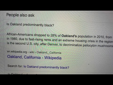 Google Is Perpetuating Racist Stereotypes About Oakland In Its Search Results Pages