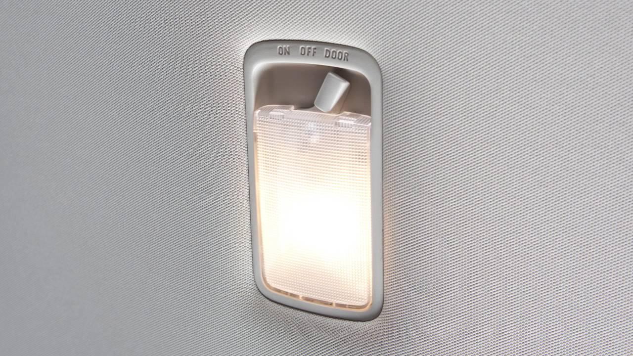 2017 NISSAN Versa Sedan Interior Lights YouTube