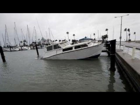 Corpus Christi, Texas hit hard by Harvey