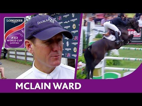 McLain Ward - Interview | New York - Longines FEI World Cup Jumping™ - NAL