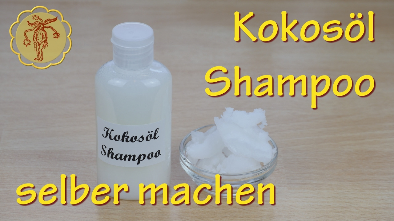 kokos l shampoo selber machen pimp my shampoo diy youtube. Black Bedroom Furniture Sets. Home Design Ideas