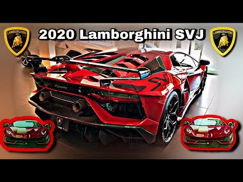 2020 Lamborghini Aventador SVJ Roadster Is a $700000 MONSTER Review & Walkaround 4K