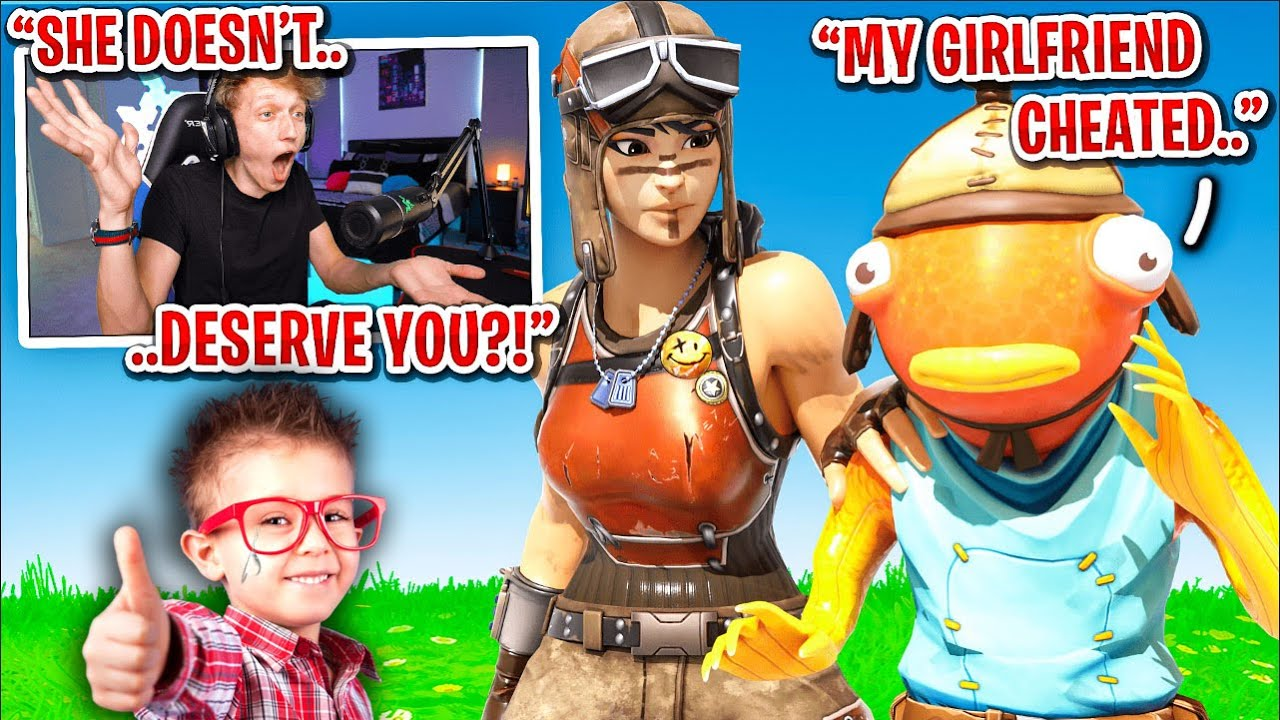 I met a kid who's girlfriend CHEATED on him in Fortnite... (emotional)