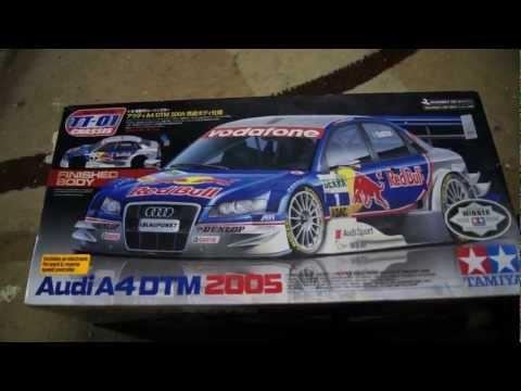 Tamiya TT01 Audi A4 DTM 2005