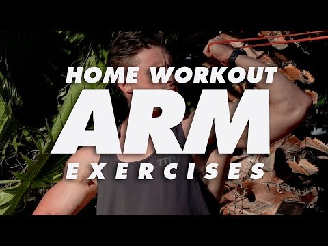 At Home Arm Workout Exercises | In The House With Team MassiveJoes