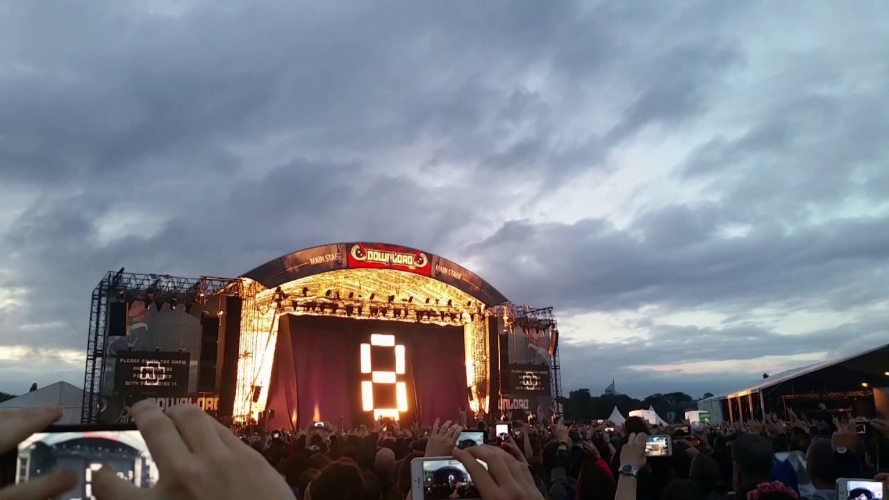 Rammstein - Ramm 4 opening song at Download festival 2016 Paris