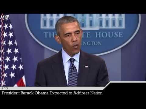 LIVE President Barack Obama to Address Nation - Breaking News Coverage