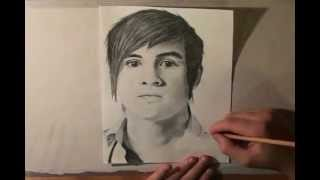 Anthony Padilla from Smosh Speed Drawing