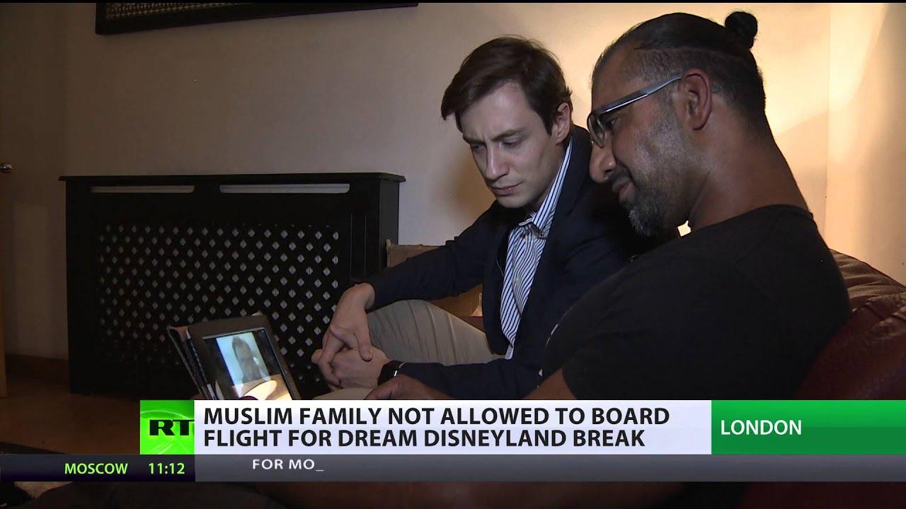 'Trumped?' US bans British Muslim family from Disneyland trip