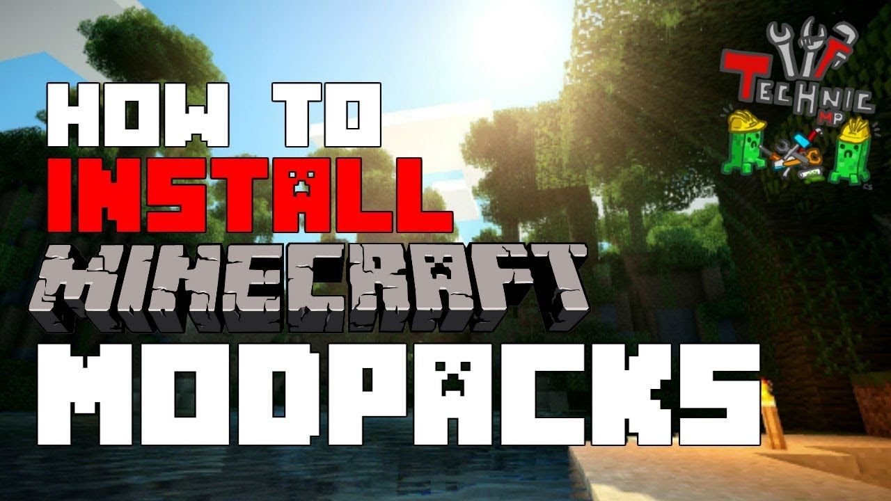 how to download a minecraft modpack