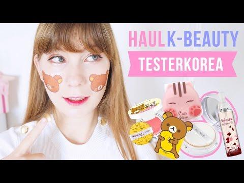 Nouveau HAUL de cosmétiques coréens chez Testerkorea ! ❤️ Tony Moly, Etude House, Innisfree