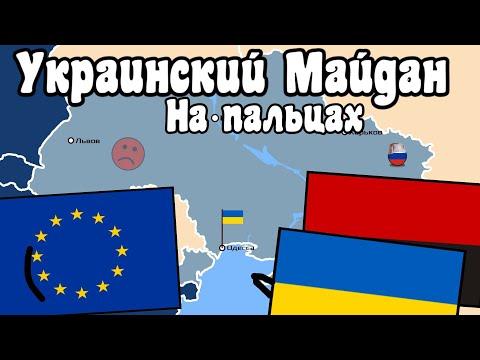 Украинский Майдан на пальцах