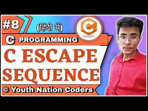 Escape Sequence | C | Hindi | YNC8 Your Videos on VIRAL CHOP VIDEOS