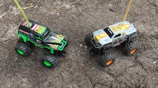 GRAVEDIGGER VS MAX-D NEW BRIGHT RC