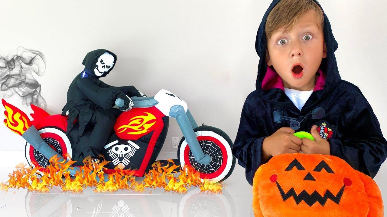 ТАКОЙ Хэллоуин Не Пожелаешь НИКОМУ / Страшилки на Halloween