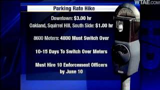 Pittsburgh Parking Meters Now Cost More, Enforced Longer