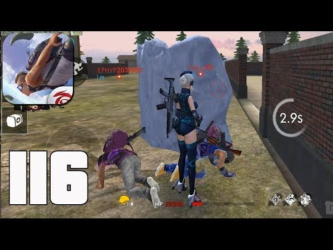 Free Fire: Battlegrounds - Gameplay Part 116 - Bermuda Squad   Ranked Game(iOS, Android)
