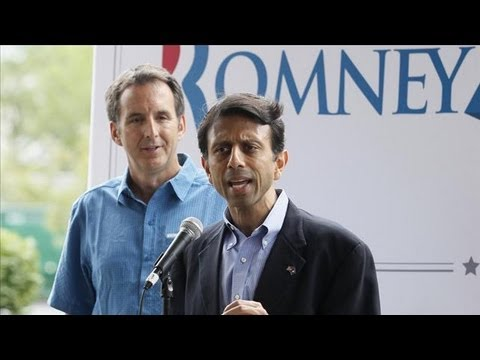 Louisiana Governor Bobby Jindal in GOP V.P. Spotlight