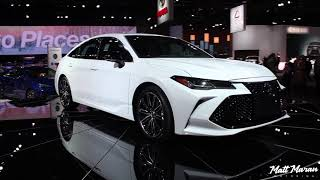 2019 Toyota Avalon Close-Up Look! 2018 NAIAS