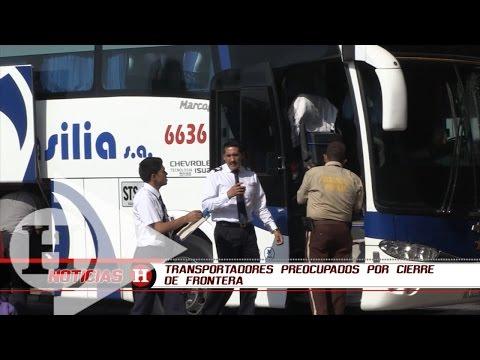 Transportadores preocupados por cierre de frontera | Noticias H | EL HERALDO