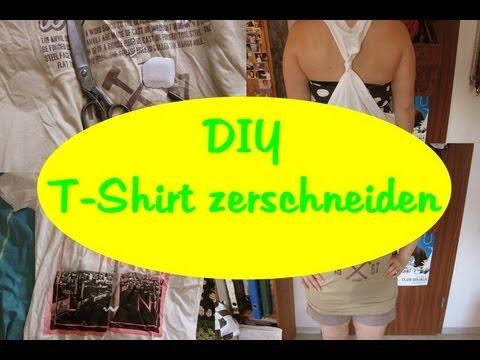 diy m nner t shirt zerschneiden zu frauen tank top. Black Bedroom Furniture Sets. Home Design Ideas