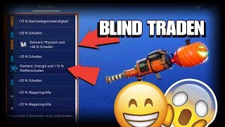 BLIND TRADEN ! Then passed... OMG😱 Fortnite Save the World