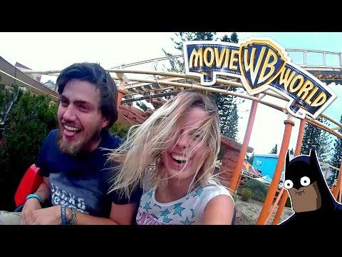 WHAT A WILD RIDE! - Movie World Gold Coast, Australia