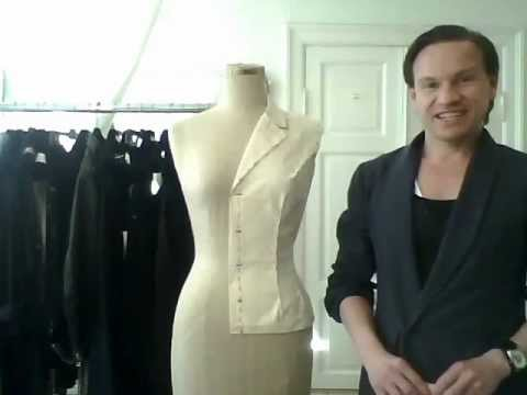 5. How to drape a basic ladies' jacket, the sleeve - by besp