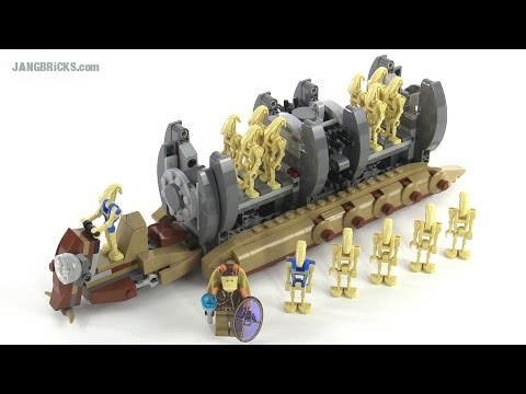 Lego Star Wars Battle Droid Troop Carrier Review Set 75086 Youtube