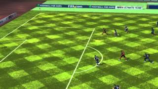 FIFA 14 iPhone/iPad - montenegro FC vs. Newcastle Utd