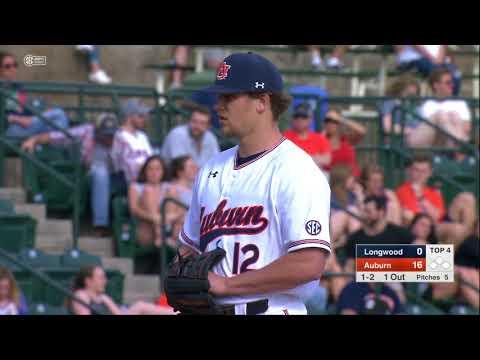 Auburn Baseball vs Longwood Game 2 Highlights