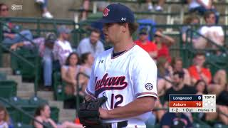 Auburn Baseball vs Longwood Game 2 Highlights
