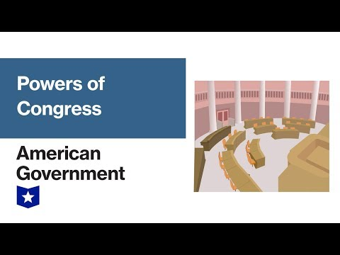 Powers Of Congress | American Government