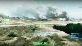 [PC] Battlefield 3 ´Thunder Run´ [HD 1080p] Gameplay on High