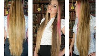 Стрижка 4 Как избавиться от секущихся кончиков. how to get rid of split ends(Видео о том, как обновить концы волос не прибегая к стрижке и оставляя их длину. Ножницы - купите обычные..., 2015-04-16T19:18:47.000Z)