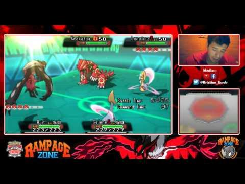 Pokémon [OR/AS] WiFi Battle. Exhibition Match #3 [ARG] Fede Turano  vs Ewok