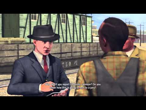 LA Noire: The Studio Secretary Murder 5 STAR Walkthrough Case 5 Part 1 [The Homicide Cases]