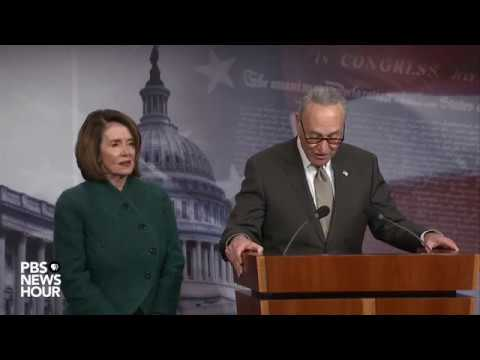 WATCH: Sen. Schumer, Rep. Pelosi discuss omnibus spending bill