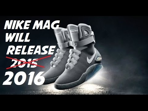 Nike   Michael J Fox Announce Nike Air MAG Shoe With Power Lace Will  Release 2016 5e00d480c