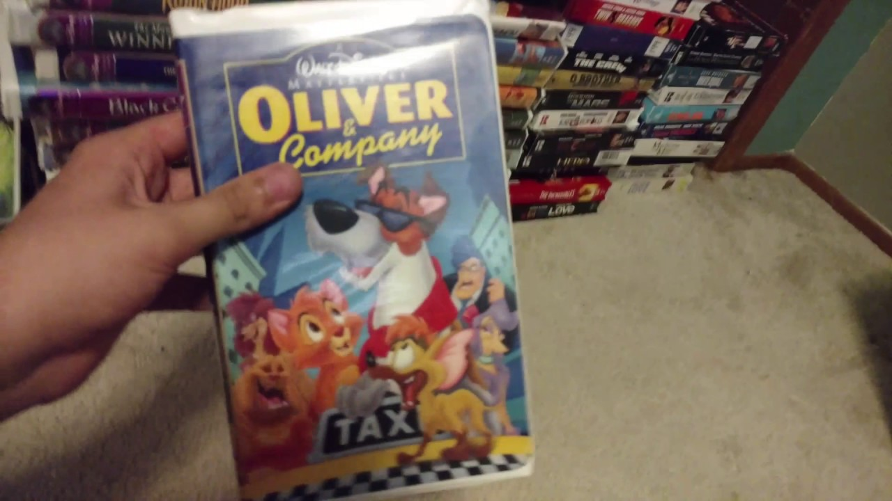 My Disney Vhs Collection Part 1