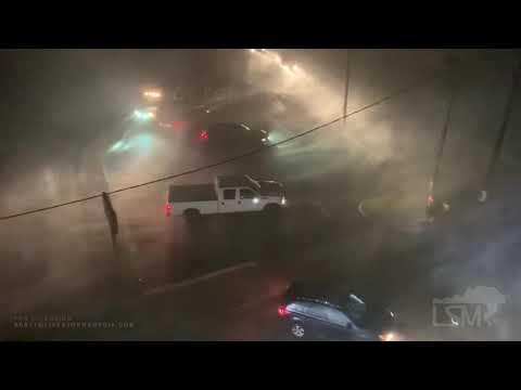 08-27-2020 Lake Charles, LA - Hurricane Laura Winds And Damage