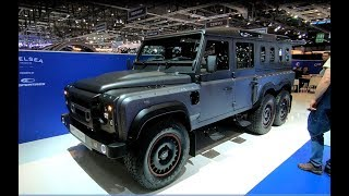 CHELSEA CIVILIAN 6X6 AWD MEGA SUV LAND ROVER DEFENDER NEW MODEL WALKAROUND