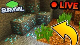 WYKOPIEMY JE WSZYSTKIE! - Minecraft Survival LIVE | ZIO i AGU