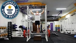 Most pull ups in one minute - Guinness World Records
