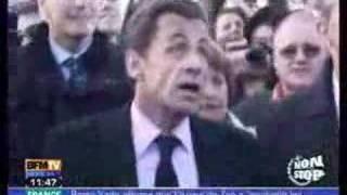 Sarkozy - Casse toi pauvre con ! (dance mix)