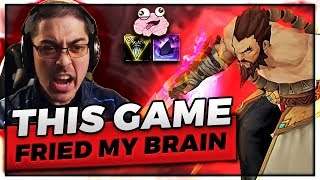 THIS GAME FRIED MY BRAIN | UDYR JUNGLE 1V9 - Trick2G