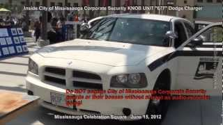 City of Mississauga Corporate Security Police Package Dodge Charger