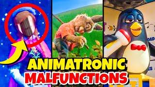 Top 10 Disney Fails & Animatronic Malfunctions Pt 11