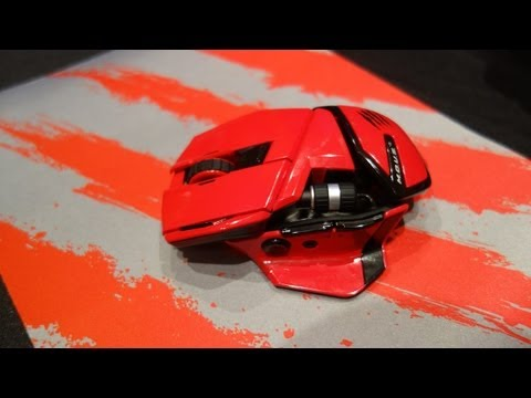 Mad Catz R.A.T. M Wireless Gaming Mouse (CES 2013)