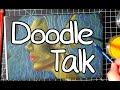 DOODLE TALK- Pastel Mermaids of Oz